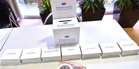 ouverture des bureaux de vote primaire de la droite les bureaux de vote sont ouverts