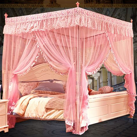 princess queen bed high quality palace mosquito net luxury queen bed frame