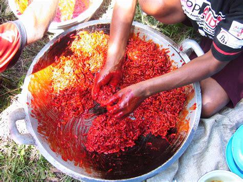 Buah Pepaya Merah buah merah and papuan 2 pandanus lam