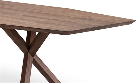Xy Table by Xy Trapezium Dining Table Hivemodern
