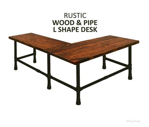 rustic wood corner desk best 25 pipe desk ideas on industrial pipe
