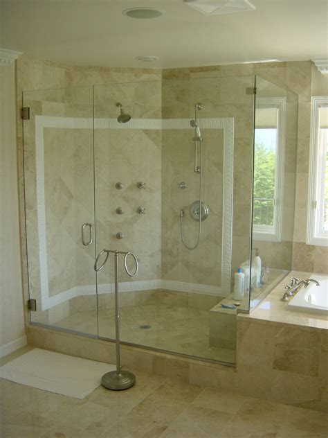 bathroom with glass doors shower doors glass shower doors glass railings