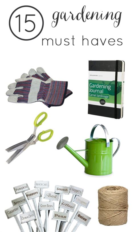 Gardening Must Haves 15 Must Gardening Tools Not Just A