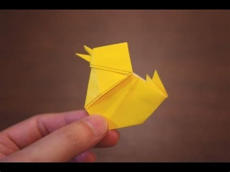 Origami Chicken Easy - origami baby