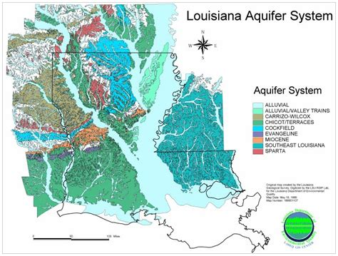 louisiana aquifer map tulane institute on water policy tulane water