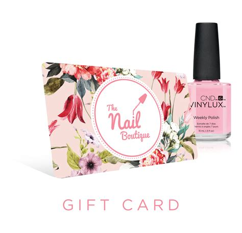 Gift Card Boutique - the nail boutique productsthe nail boutique