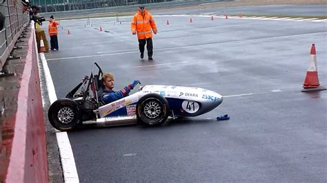 Formula Student 2012 Crash Youtube