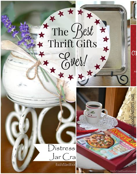 diy thrift gifts  faith filled food  moms