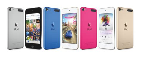 apple overhauls ipod touch adds new colors to ipod family