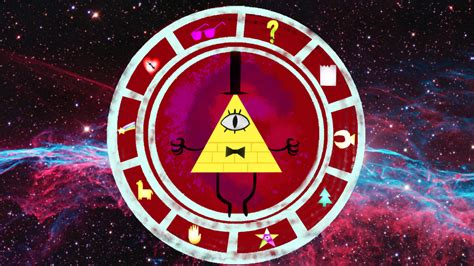 gravity falls bill cipher wheel gravity falls bill cipher wheel remake by