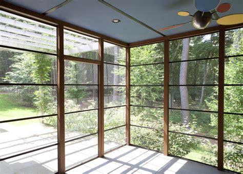 porchpergola asian porch boston  light house design