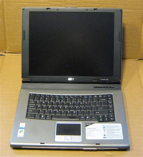 Laptop Acer Travelmate acer travelmate 2300 2303lci zl1 laptop for parts u498 ebay