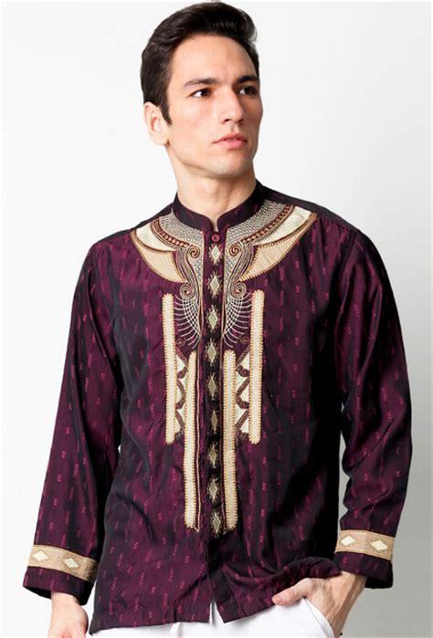 Baju Koko Pria Al Asyari Lengan Pendek 15 contoh model busana muslim modern pria terbaru