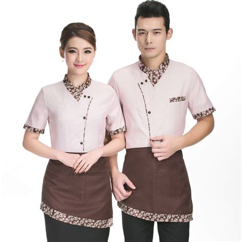 Baju Global Chef hotel waiter and waitress summer fast food restaurant cafe work clothes