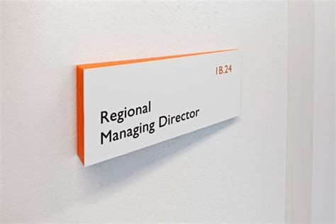 Office Signage by Signage Wayfinding Tnt Green Office Signage System By