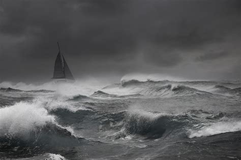 sailboat in storm sailing in storm check out these rough seas red bull