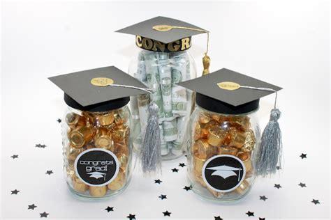 Handmade Graduation Gifts - diy graduation jar favors and grad gift craft
