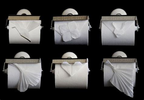 Toilet Paper Folding Designs - papiroflexia con el papel higi 233 nico