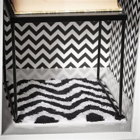 locker rug black chevron locker rug pbteen