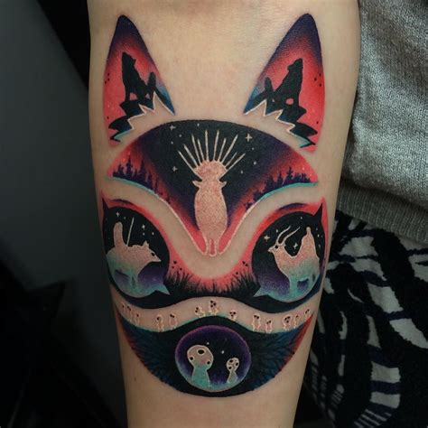princess tattoo amazing princess mononoke pinteres