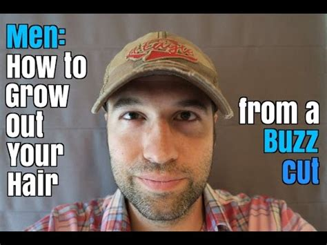 how to grow out buzzcut men how to grow out your hair from a buzz cut youtube