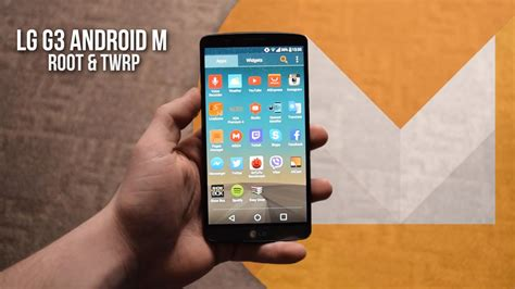 marshmallow themes for lg g3 how to root lg g3 d855 and install twrp recovery android