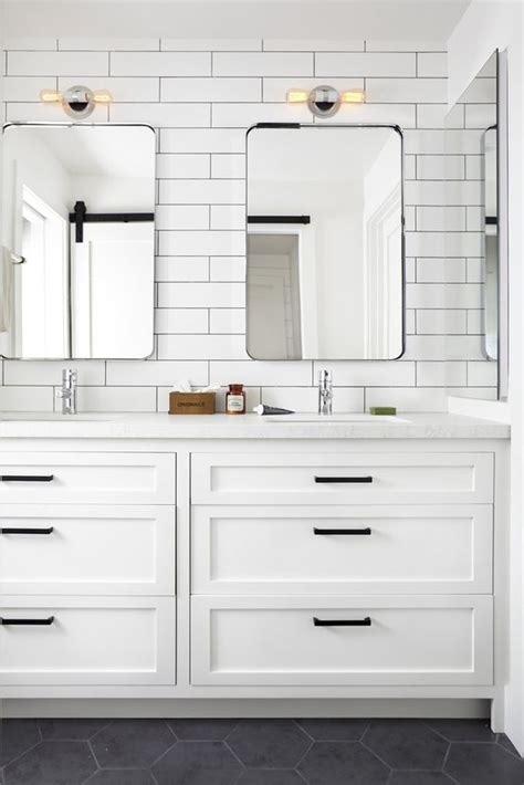 modern farmhouse bathroom modern farmhouse bathrooms house of hargrove