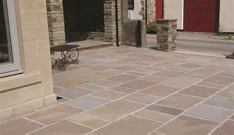 Patio Slabs Ideas Rippon Calibrated Priceless Paving