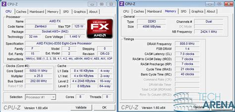 cpu amd fx  cpu  oc  techarena