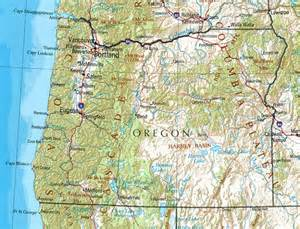oregon reference map