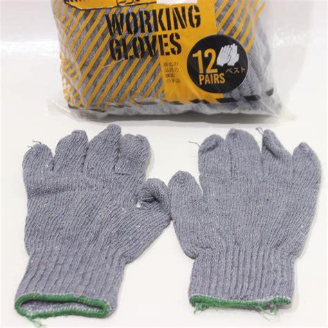 Sarung Tangan Industri sarung tangan b 5 abu bulldozer 12pcs jawatimuronline