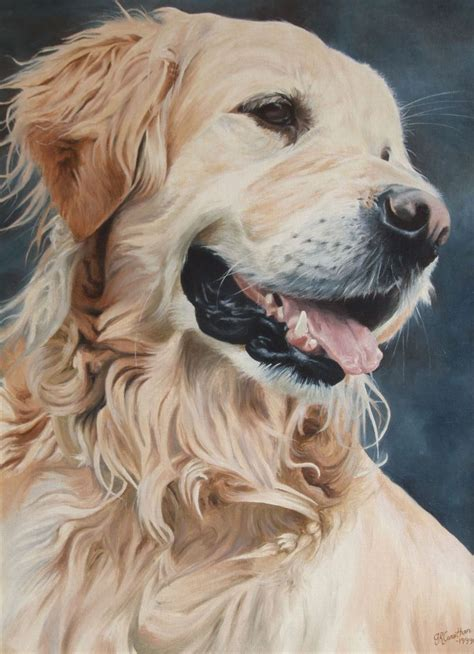golden retriever paintings 25 best ideas about painting on canvas on paintings on canvas oleo