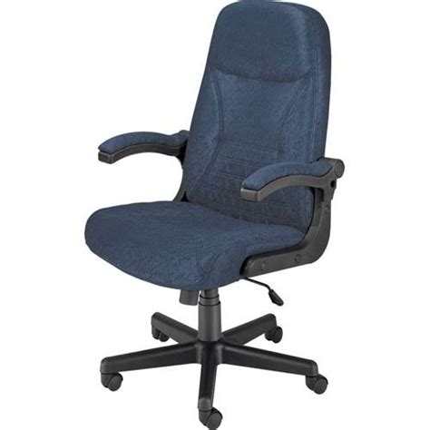 blue mobile arm executive chair ofm office furniture