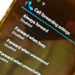 call forwarding android เทคน คการต งโอนสาย call forwarding บน android trendy2mobile
