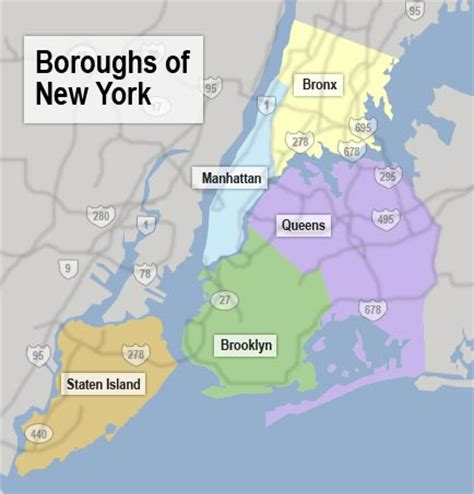 Boroughs Of New York Map by Www Mappi Net Maps Of Cities New York City