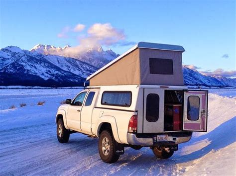 Truck Bed Canopy Best 25 Pop Up Cer Accessories Ideas That You Will Like On Pop Up Trailer Tent