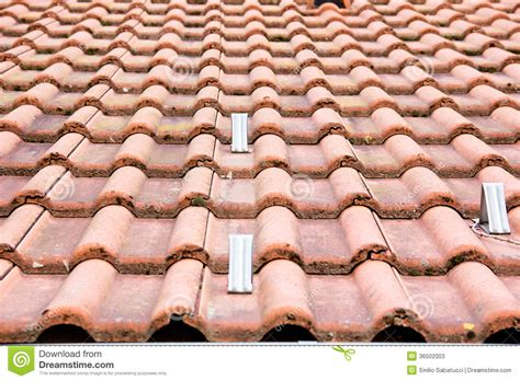 Types Of Roof Tiles Type Roof Stock Photos Image 36502003