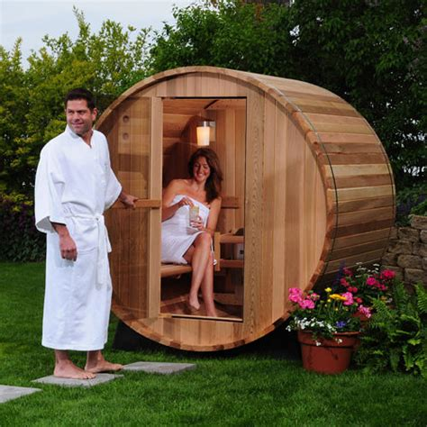Sauna And Steam Room For Thc Detox by Almost Heaven Outdoor Barrel Petagadget