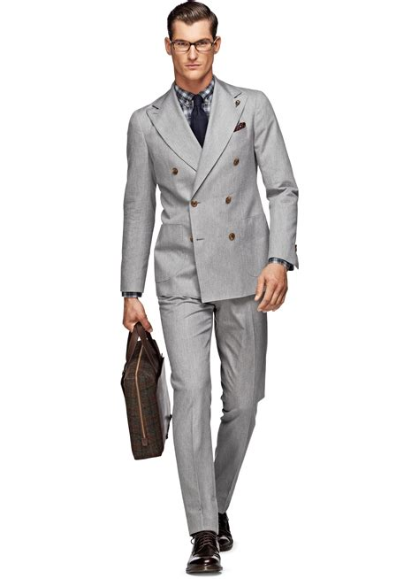 Light Grey Suits by Suit Light Grey Plain P3695 Suitsupply Store