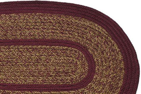 burgundy braided rug 1776 charles blend burgundy braided rug