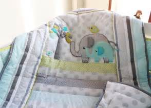 Baby Boy Bedding Sets Elephant Aliexpress Buy Elephants 4pc Baby Nursery Crib