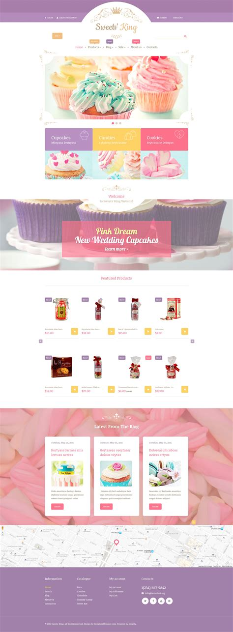 shopify themes kingdom confectionery shopify theme