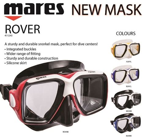 Mask Mares Rover mask rover mares