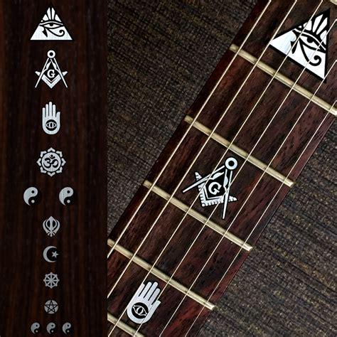 Fret Inlay Stickers