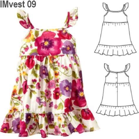 vestido nina patrones patrones de vestidos de ni 241 a de verano imagui