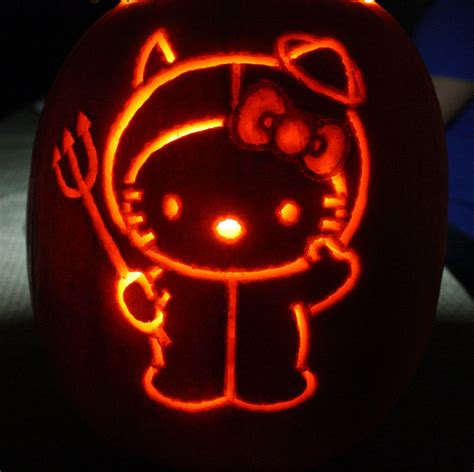 jack o lantern templates hello kitty hello kitty pumpkin 2011 by katrivsor on deviantart