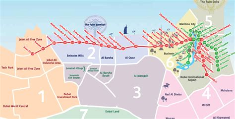 dubai on map maps of dubai detailed map of dubai city in