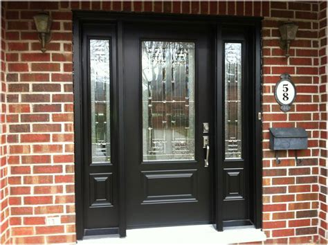 Exterior House Ideas by Traditional Entry Door With Sidelights John Robinson