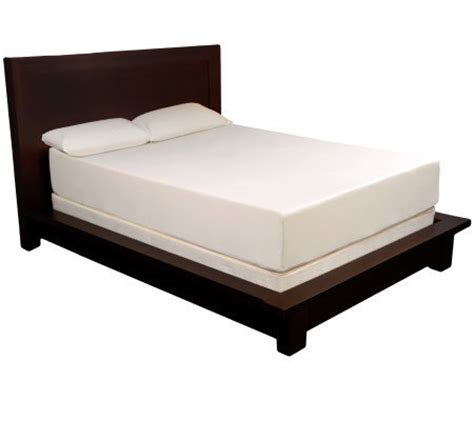 pedicsolutions 12 quot king memory foam mattress qvc