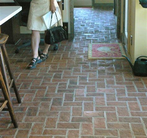 interior herringbone brick pavers lovely home